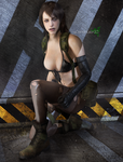 Quiet (2) by DemonLeon3D