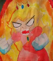 Angry Peach by ashlee1203