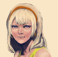 Long haired Rose Lalonde WIP by Sket-Chee