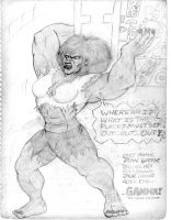 GAMMA-THE SAVAGE SHE BEAST by BrianThomasX