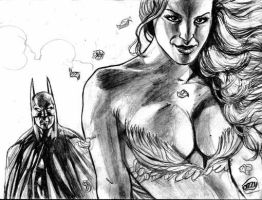 Bat and Ivy by ozzyfreeloader