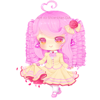 AT :. Pop in a teacup by Vicle-chan
