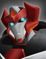 Red Alert Prime Bust by NightLokison