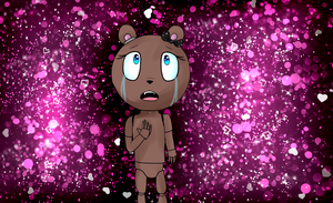 my new oc Kerstiny five nights at freddy's by ChicaSuperKiller