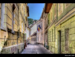 narrow street by Iulian-dA-gallery
