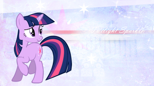 Twilight Sparkle Wallpaper by StarLullaby