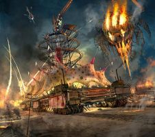 Twisted Metal - Carnival Of Carnage by REDVAMPIRE120652