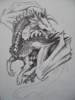 dragon by vivean2005