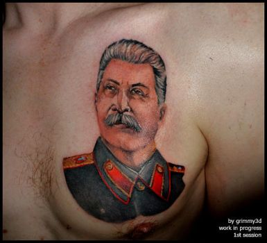WIP stalin by grimmy3d