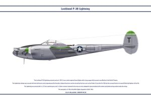 P-38J USAAF 80th FS 1 by WS-Clave