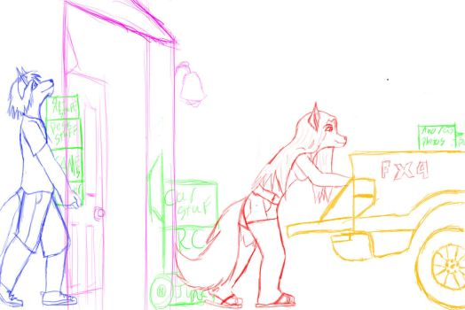 WIP moving day by LeeuKaji