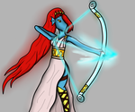 Undyne reapertale by Painterqueen