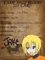 CHB ID card - Jake by mo0on3