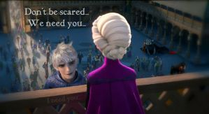 Elsa, become apart of us. by Robono