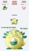 Victreesey - Pokemon Fusion by ZeTrystan