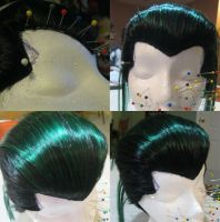 Yusuke Wig Commission Progress by xHee-Heex