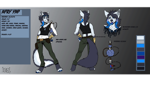 Afry reference commission by Inkfang