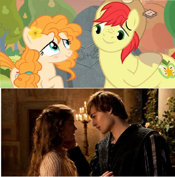 Romeo/Juliet Reference in My Little Pony Season 7. by brandonale