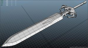 WIP : Power Sword 01 by Baronflame