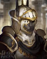 Gilded Band Knight by CeruleanRaven