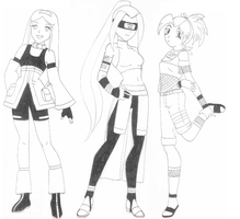 Naruto OC Team by JBarnzi88