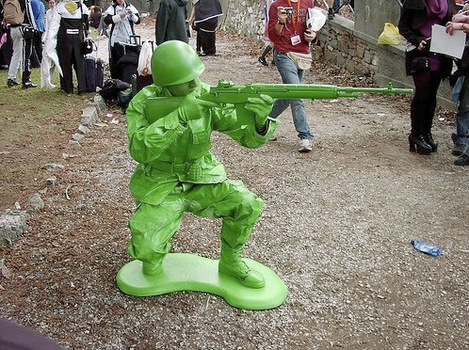 Green Army Man Cosplay by IanFaceSexyNinja