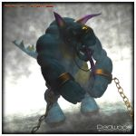 FF7 Aps Sewer Monster by REDWOOD3D