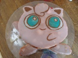 My Jigglypuff birthday cake by Miloceane