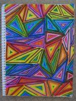 Rainbow Triangles! by theartisticnerd