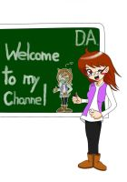Welcome to my chanell- new ID by AdrixCosta
