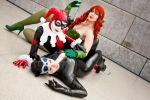 The Gotham City Sirens by blue-potions