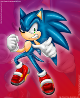 Sonic  .:ihearrrtme contest:. by shamel-art