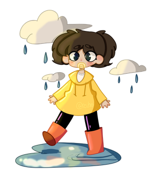 raincoats and galoshes by reibo