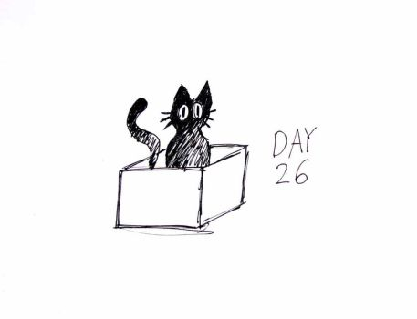 Inktober Day 26 by ShadowSpyProductions