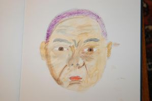 Scary Old Man Baby Dude by Drent