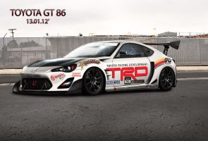 Toyota GT 86 - Toyota Racing Development by apple-yigit-jack