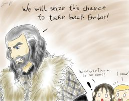 Uncle Thorin is so cool... by TiaAnthy