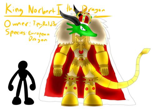 King Norbert I the Dragon (Revived) by TipsyRa1d3n