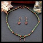 Turquoise Copper Set by copper9lives