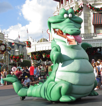 A Front to Side View of Tick Tock IMG 2779 by WDWParksGal-Stock