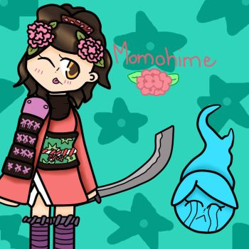 Momohime by IreneThecat2001