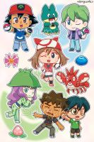 STICKERS PokeAni AG by Vulpixi-Misa