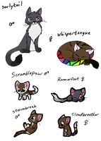 Cat Breedables #3 Litter12 by AerithsAdopts