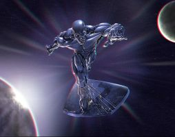 Silver Surfer 3d Conversion by Geosammy