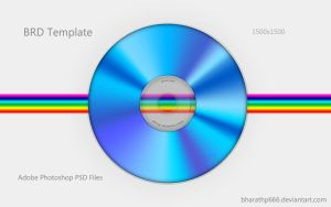 Bluray Disc Template by bharathp666
