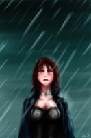 It's just tears and rain. by Paper-pulp