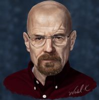 Walter White by WaelK