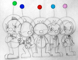 Pikmin - Our Heroes by PuccaFanGirl