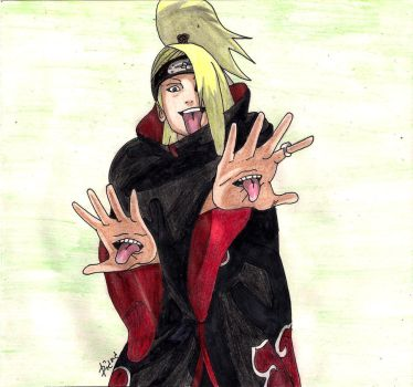 Deidara by hoshinoame