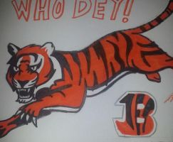 Bengal Who Dey by mistresscarrie